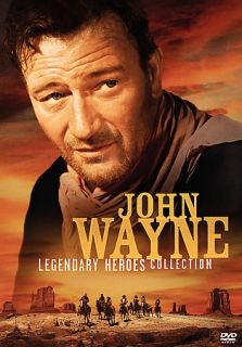 John Wayne Legendary Heroes Collection DVD, 2005, 5 Disc Set