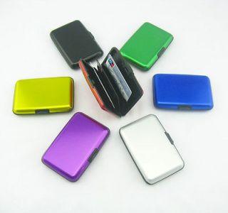 Aluminum Metal Business ID Credit Card Holder Wallet Purse Pocket Case