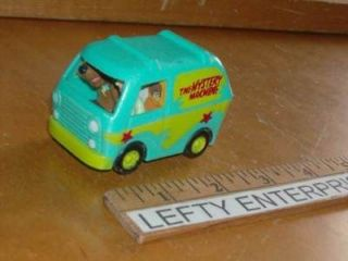 The Mystery Machine and Scrappy Burger King Scooby Doo 1996