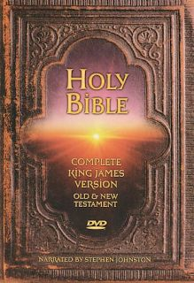 Holy Bible King James Version   Complete Bible DVD, 2003, 2 Disc Set