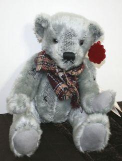 DAN DEE 11 100 Anniversary Teddys Teddy Bear Lee Capozzi Gray Scarf