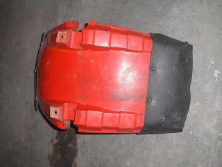 honda atc big red 250 250es front plastic fender  39 99 or