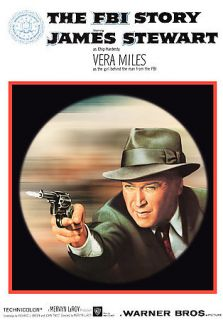 THE FBI STORY   JAMES STEWART   DVD SHIPS FREE IN US W/TRACKING
