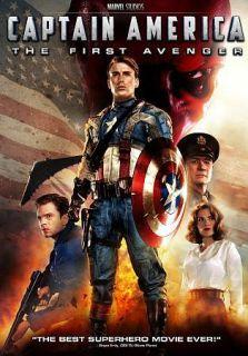 CAPTAIN AMERICA THE FIRST AVENGER (DVD, 2011, Single Disc)   NEW