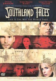 southland tales the rock dvd 2008  0
