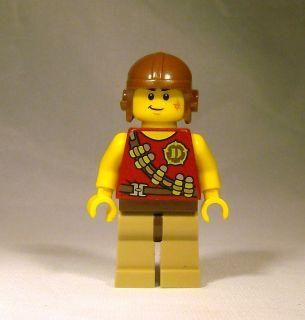 Lego Minifig Dino Hero Minifigure w/ Tranquilizer Belt   5882, 5884
