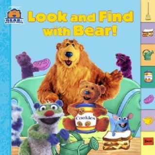 Look and Find with Bear by Susan Kantor 2002, Board Book