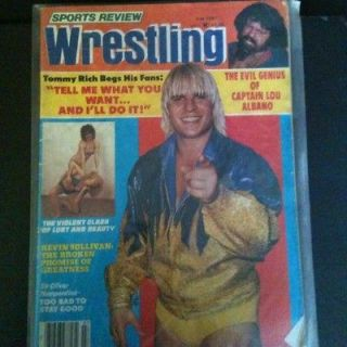 Review Wrestling Magazine July 1981 Tommy Rich Womens Apartment Girls