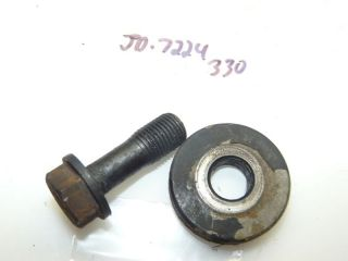 John Deere 330 Tractor Yanmar 3TN66UJ 16hp Diesel Engine Flywheel Bolt