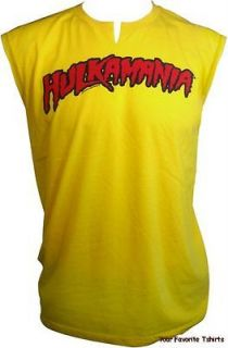 hulk hogan hulkamania adult tank top shirt s m l xl 2xl more options