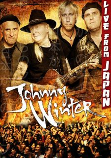 Johnny Winter Live from Japan DVD, 2012