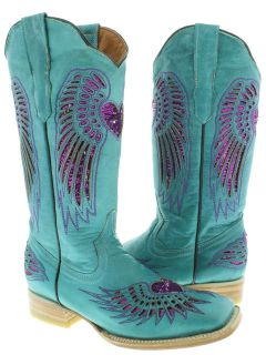 sequin cowboy boots in Boots