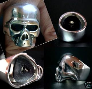 Newly listed Keith Richards Skull Ring.1988 Complete Replic Stering /a