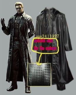 resident evil 5 albert wesker cosplay halloween costume from china