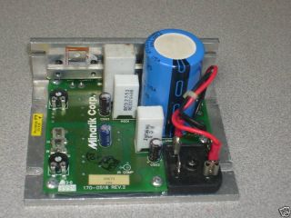 treadmill mc 54 117494 minarik icon motor controller repair and