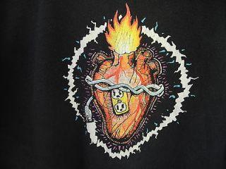 JOE SATRIANI   Luminous Flesh Giants 1995 96 WORLD TOUR T SHIRT