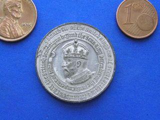 1902 King Edward VII Coronation Medal. Canadas Boys & Girls Help