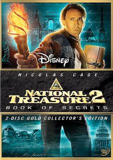 National Treasure 2 Book of Secrets DVD, 2008, 2 Disc Set