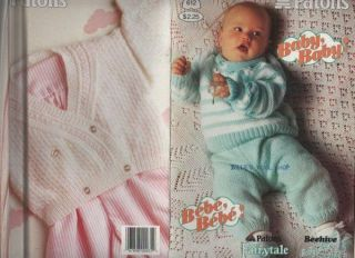 Patons Knitting Patterns For Babies : Knitting Pattern Baby Bolero Cardigan DK King Cole
