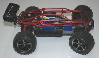 traxxas 1 16 e revo powder coated red roll cage