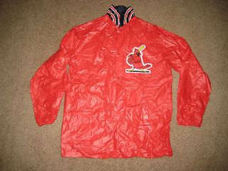 St. Louis Cardinals STL vtg 80s SGA youth Large L vinyl jacket