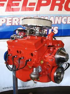 chevrolet 327 330 hp high perf turn key crate engine