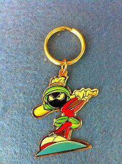 Marvin the Martian Baseball Keychain Looney Tunes Sports Gift