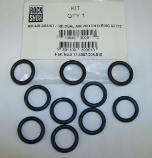 New Rock Shox Pilot Judy Air Assist SID Dual Air Piston O Ring Qty 10