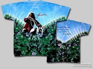 janis joplin motorcycle t shirt new