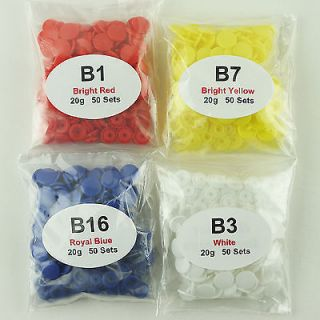 200 KAM Plastic/Resin Snaps for Cloth Diapers/PUL/Baby Bibs/Poppers