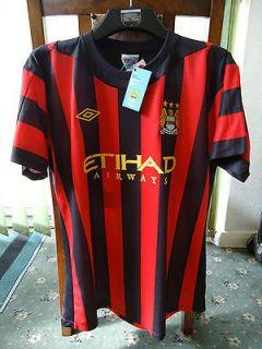 MANCHESTER CITY Away Shirt 2012 MEDIUM Adults 40 BNWT Umbro Man City