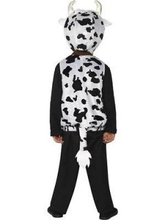 moo cow child costume with hood new
