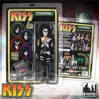 KISS RETRO Love Gun 12 Inch Action Figure Series 1 Peter Criss Catman