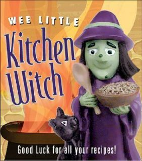 Wee Little Kitchen Witch Good Luck for All Your Recipes by Morgan