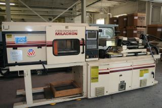 cincinnati vt85 5 injection molding machine time left $ 12000
