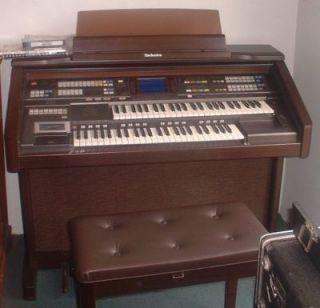 technics organ model ga 3 with bench