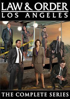Law Order Los Angeles   The Complete Series DVD, 2011, 5 Disc Set