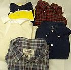 MENS RALPH LAUREN POLO CASUAL SHIRTS SIZE LARGE RUGBY BUTTON DOWN