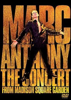 Marc Anthony   The Concert from Madison Square Garden DVD, 2001