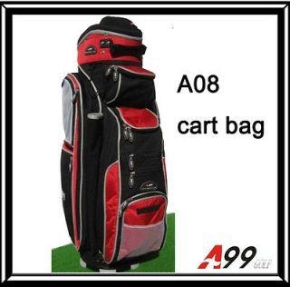 newly listed a08 14way full length divider golf cart bag