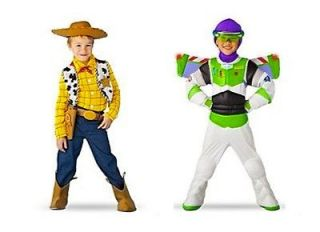 Toy Story 3 Disney Halloween Cowboy Woody Buzz Lightyear Costume Light