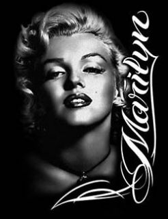 Marilyn Monroe T Shirt Portrait Pose Profile Tee Marilyn Shirt
