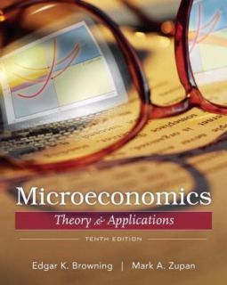 Microeconomic Theory and Applications by Mark A. Zupan and Edgar K