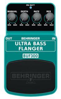 Behringer Ultra Bass FlangerBUF300 Flanger Guitar Effect Pedal