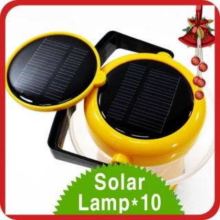 Solar Panel Cell Lantern Dual Charger Camping Lamp wholesale Brightest