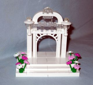 lego wedding arch cake topper for bride groom new time