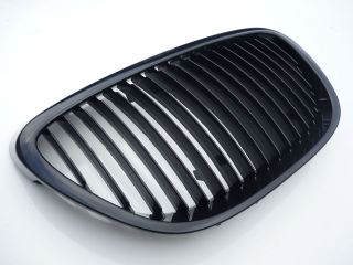 Seat Leon Altea mk2 Black front badgeless debaged grill 06 09