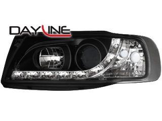 Seat Ibiza 6K Dayline DRL Headlights black ++ WOW ++ head lights ++