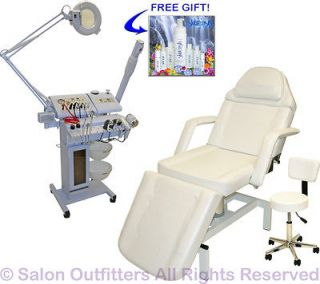 ​ion Facial Machine Hydraulic Massage Chair Salon Equipment