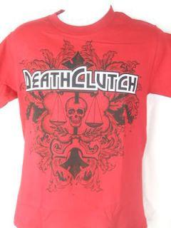 death clutch fester cardinal red t shirt new